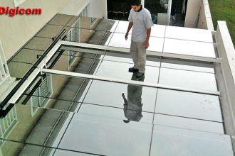 Cobertura de Vidro Retrátil Automática