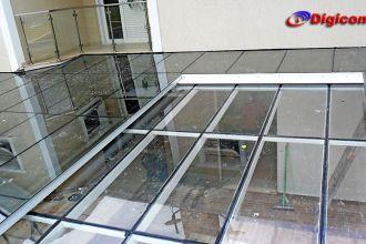 Cobertura de Vidro - Aldeia da Serra